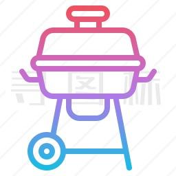 烧烤炉图标