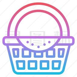 野餐篮图标