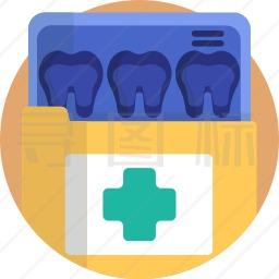 牙科文件夹图标