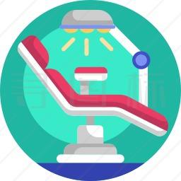 牙科椅图标
