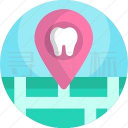 牙科定位图标