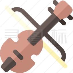 小提琴图标