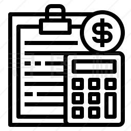 财务记录图标