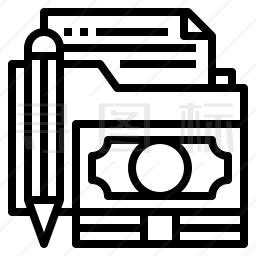 财务文件夹图标