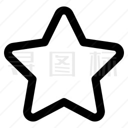 五角星图标