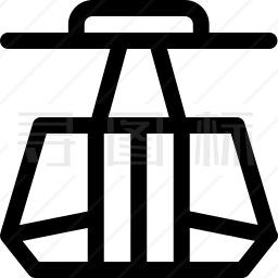 电缆车图标