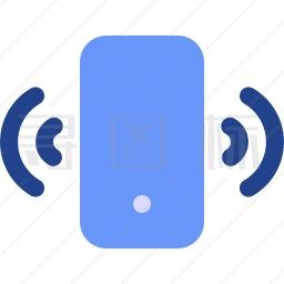 手机振动图标
