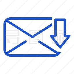 邮件下载图标