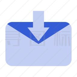 接受邮件图标