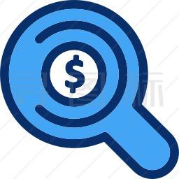 美元搜索图标