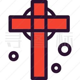 十字架图标