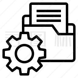 文件夹管理图标