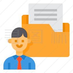商业文件夹图标