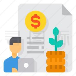 投资文件图标