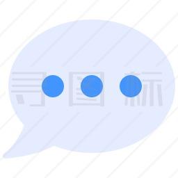 聊天框图标