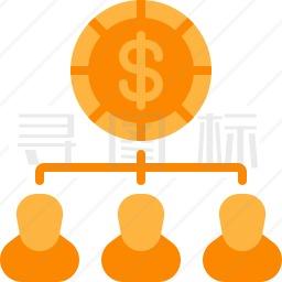 团队经济图标