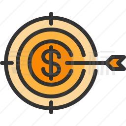 美元标靶图标
