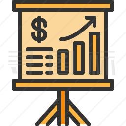 经济演示图标