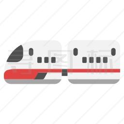 高速列车图标