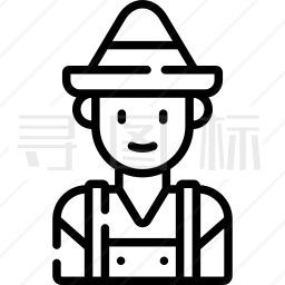 墨西哥男人图标