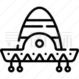 墨西哥帽子图标
