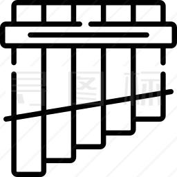 安第斯排笛图标
