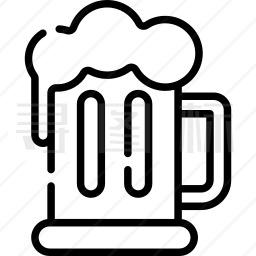 一品脱啤酒图标