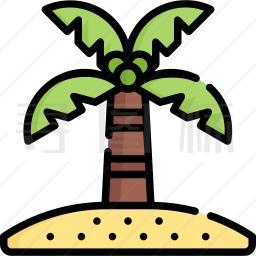 椰子树图标