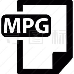 MPG格式图标