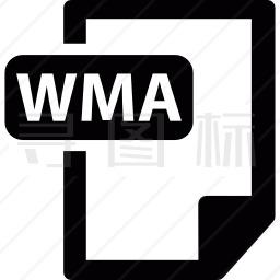 WMA格式图标