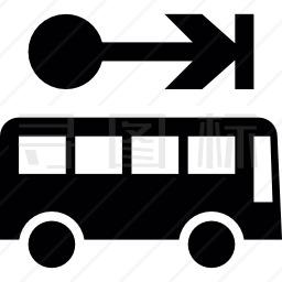 公交客车图标
