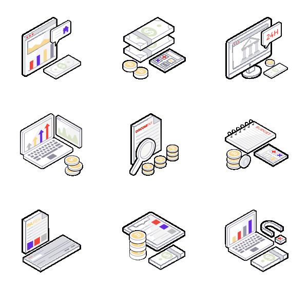 商业银行图标