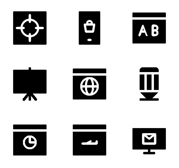 SEO图标