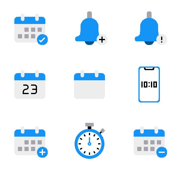 时间日期图标