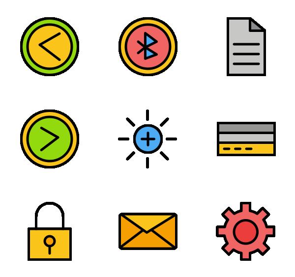 用户界面图标