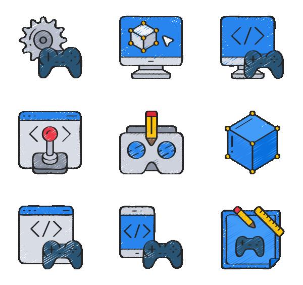 游戏开发图标
