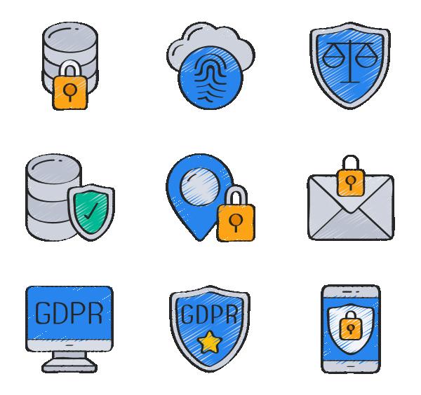 信息安全图标