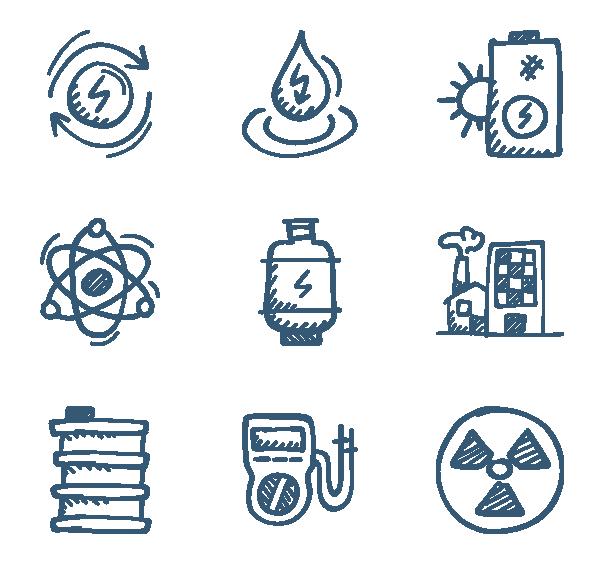 能源与动力图标