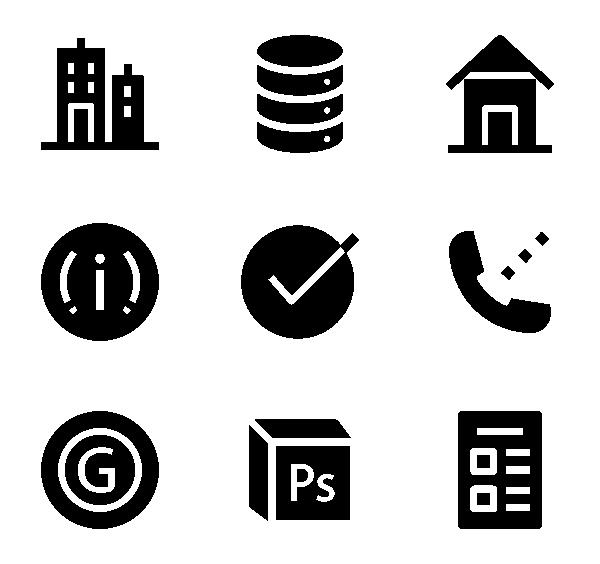 用户界面元素图标