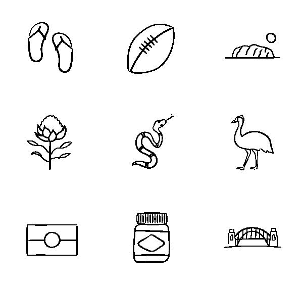 澳大利亚图标