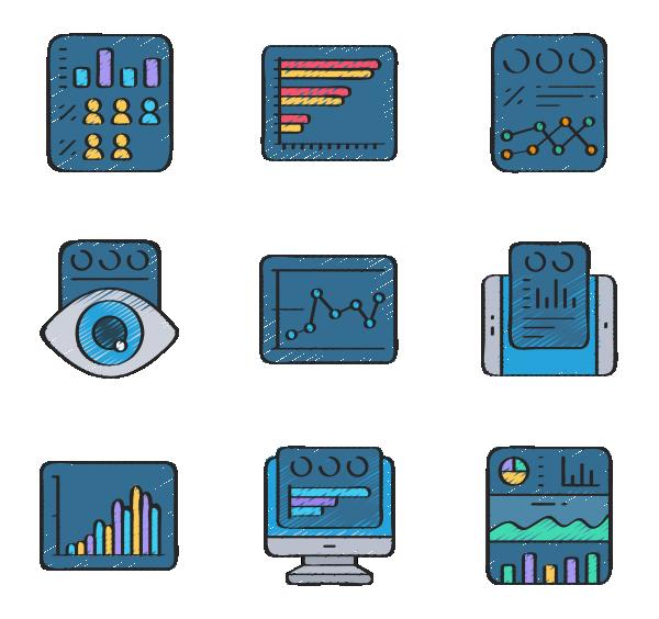 数据可视化图标