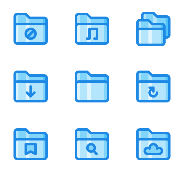 文件夹图标