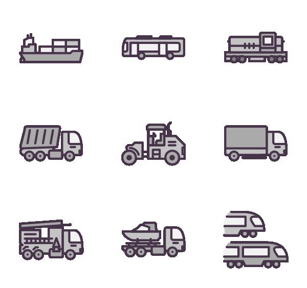 运输方式图标