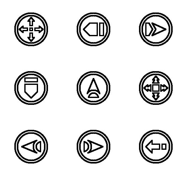 导航箭头图标