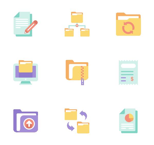 文件和文件夹图标