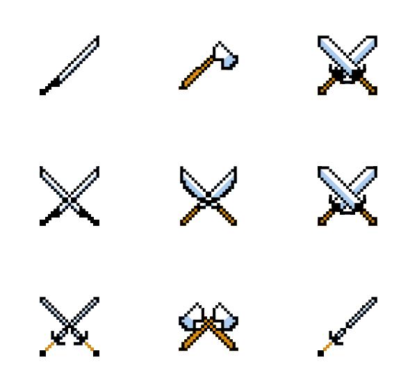 像素剑图标