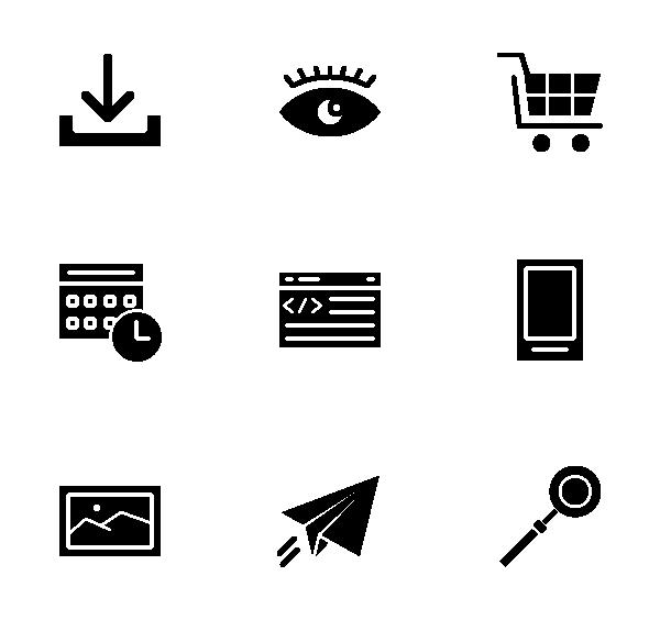 网络开发图标
