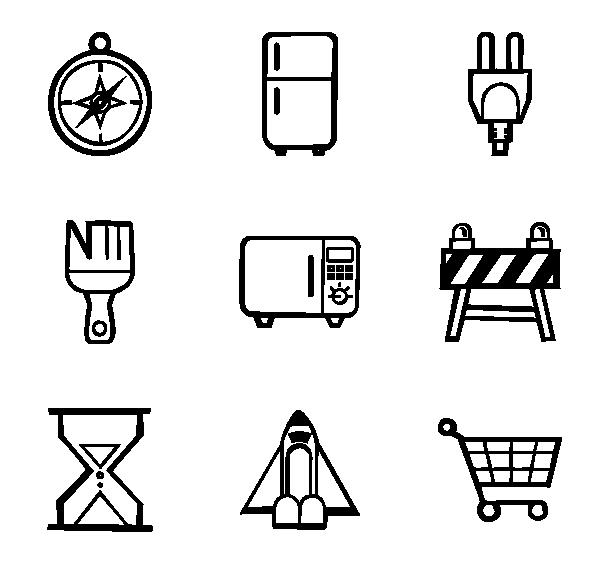 手绘UI图标