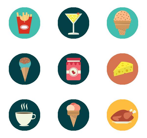 食物饮料图标