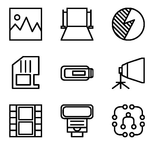 摄影工具图标